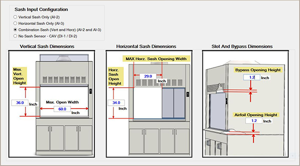 AVC Fume Hood Software and Monitor Photo