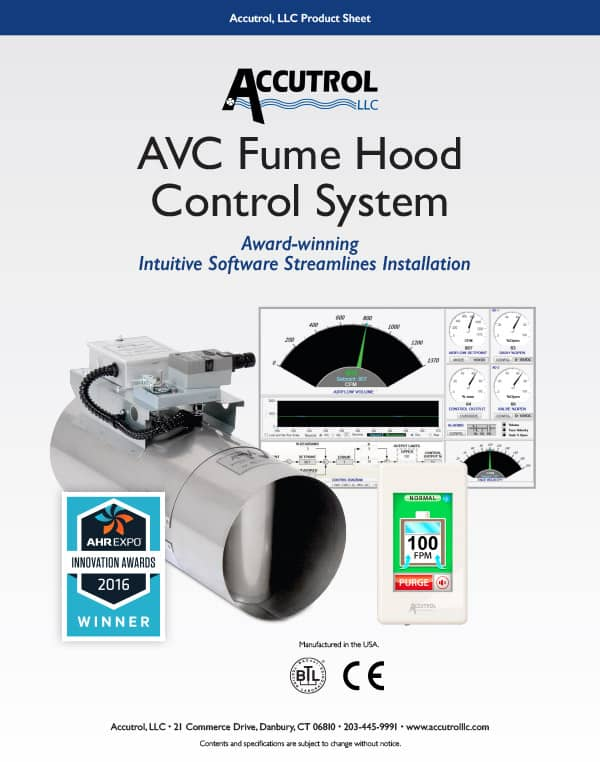 AVC Fume Hood Control System