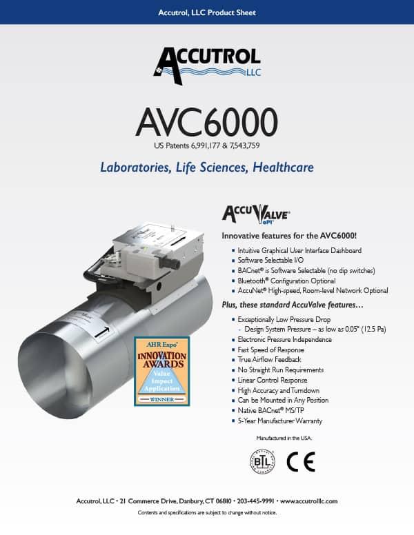 AVC6000 Product Sheet