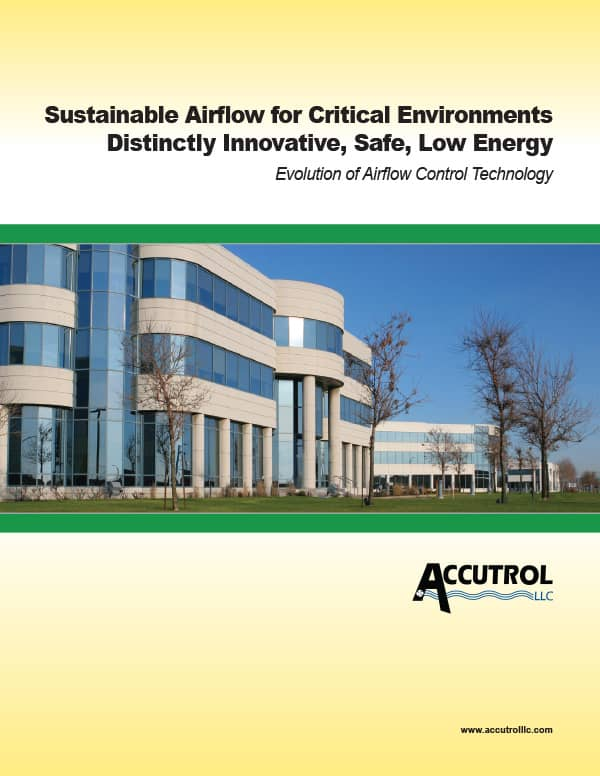 Sustainable Airflow for Critical Environments